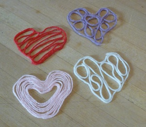 February 2016 Holiday History & Craft - Yarn Hearts