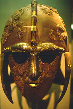 An Anglo-Saxon parade helmet, c. 7th Century A.D.
