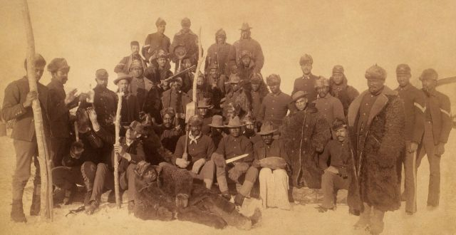 Members of the 9th or 10th U.S. Cavalry