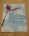 April 2016 Holiday History & Craft - Finger Painted Kite