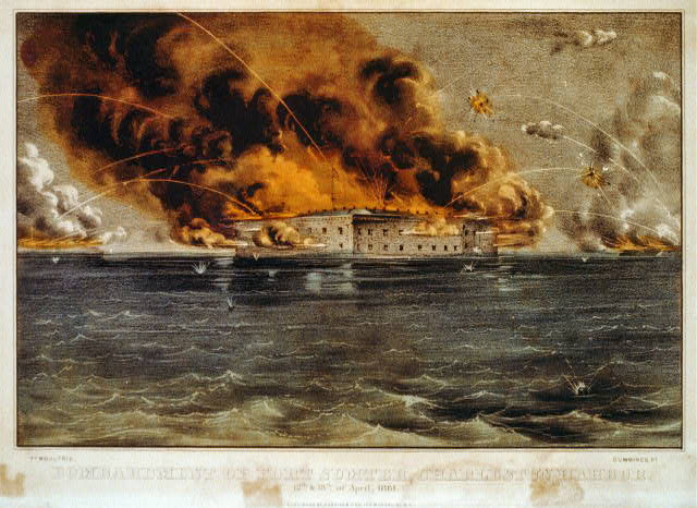 Fort Sumter, April 12, 1861