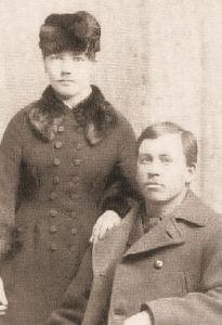Laura & Almanzo Wilder, c. 1885