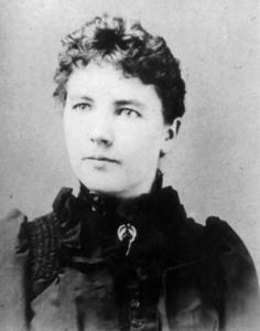 Laura Ingalls Wilder, c. 1885
