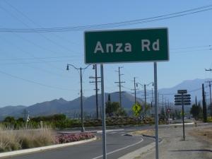 Anza Road
