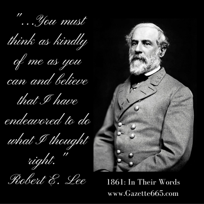 Robert E Lee Quote