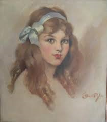An artist's depiction of Elsie Dinsmore (no known restrictions)