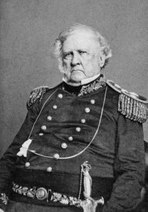 "General Winfield Scott (aka ""Old Fuss & Feathers)"