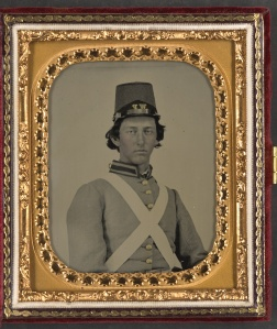 A member of the 4th Virginia Cavalry (Library of Congress Collections)