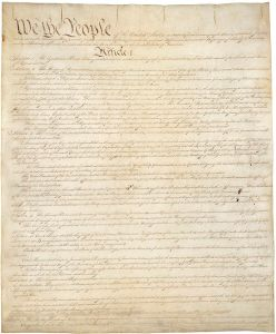 The Constitution of the United States of America, Page 1