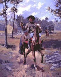 A Virginian Cavalryman (Artwork by Jim Lancia, no copyright infringement intended)