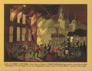 Firefighting in New York City (c. 1869)