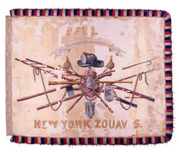 The Flag of the 11th New York Volunteer Infantry