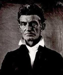 John Brown (the one who raided Harper's Ferry)