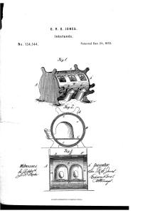George's Inkstand Patent