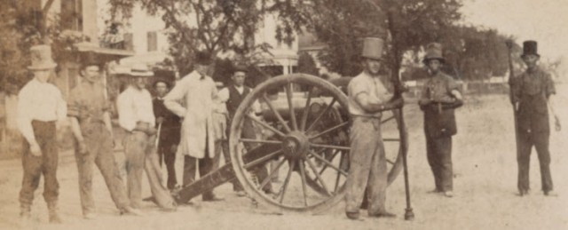 New Recruits for the Southern Artillery in Charleston, South Carolina.