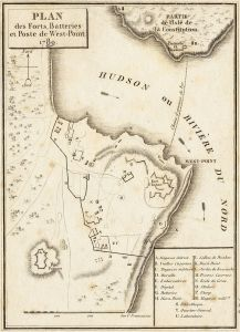A Map of West Point in 1780