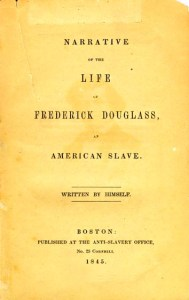 Frederick Douglass's first autobiography was published in 1845.
