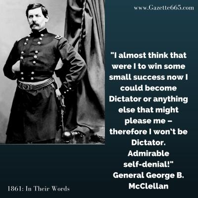 McClellan civil war quote
