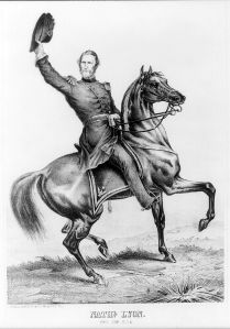 General Nathaniel Lyon was the first Union general killed during the Civil War.