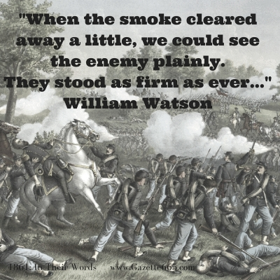 Wilson Creek Civil War quote