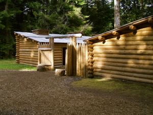 Fort Clatsop Photo By Glenn Scofield Williams from USA (Fort Clatsop, Oregon  Uploaded by Droll) [CC BY 2.0 (http://creativecommons.org/licenses/by/2.0)], via Wikimedia Commons
