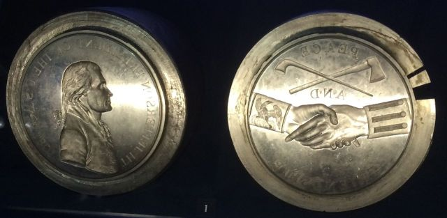 The Casts for the Jefferson Peace Medals