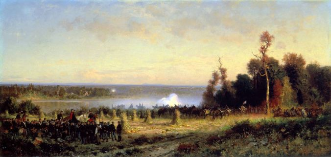 Battle of Ball's Bluff by Alfred W. Thompson