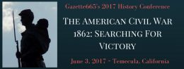 1862: Searching For Victory Civil War Conference California