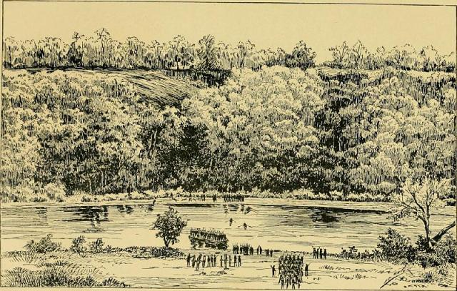 The 20th Massachusetts at the Battle of Ball's Bluff