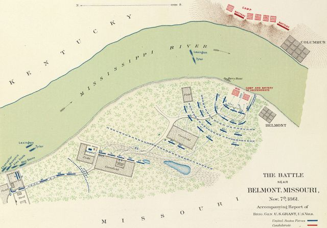 Battle of Belmont, November 7, 1861