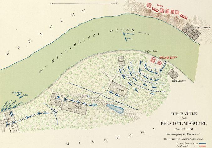 Battle of Belmont, November 7, 1861