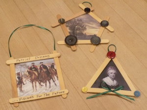 Christmas Historical Photo Frames