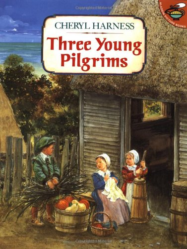 thanksgiving kid u2019s books  three young pilgrims