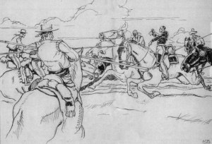 Californio Lancers at the Battle of San Pasqual