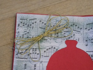 Music Christmas Card