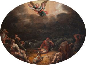 """Annunciation To The Shepherds"" by David Collins"
