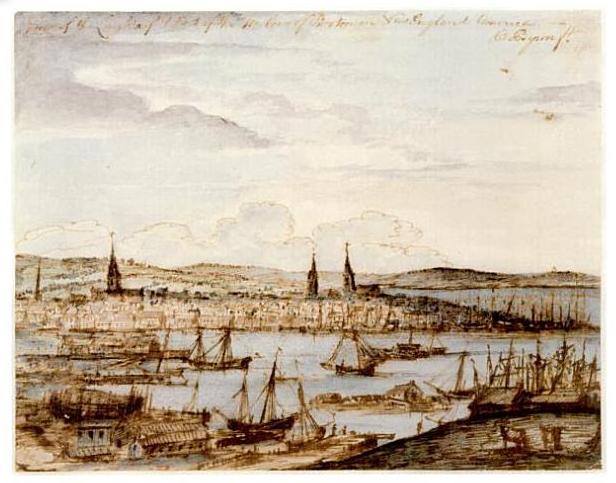 Boston Harbor, 1764