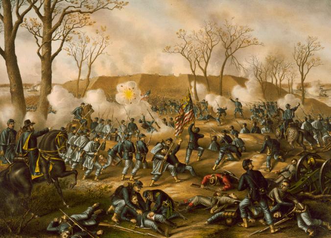 Battle of Fort Donelson (artwork)