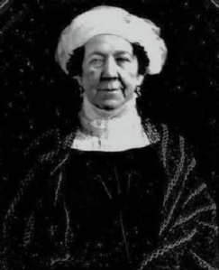 Photograph of Dolley Madison in 1848