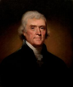 Thomas Jefferson, c. 1800