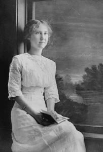 Mamie Eisenhower, age 17