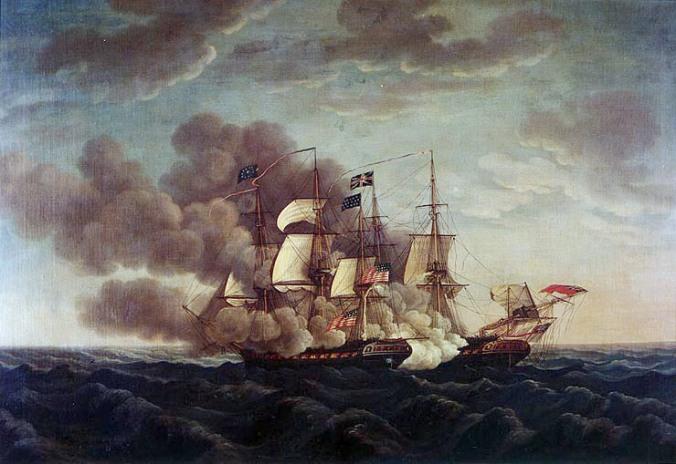 USS Constitution vs. Guerrie