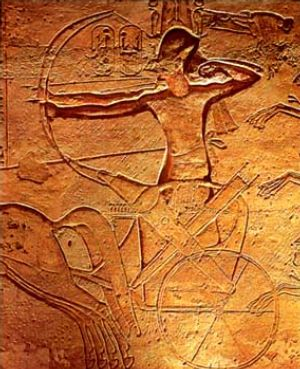 Ramses II at Kadesh