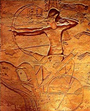 Ramses II at Kadesh